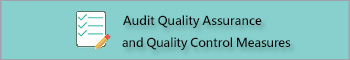 Audit Quality Assurance and Quality Control Measure